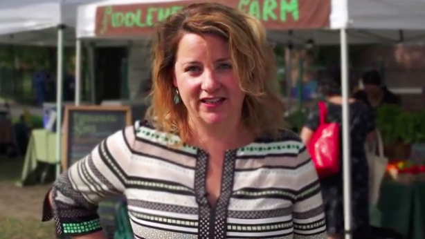 Amy Millan in I Am A Seed Saver campaign video