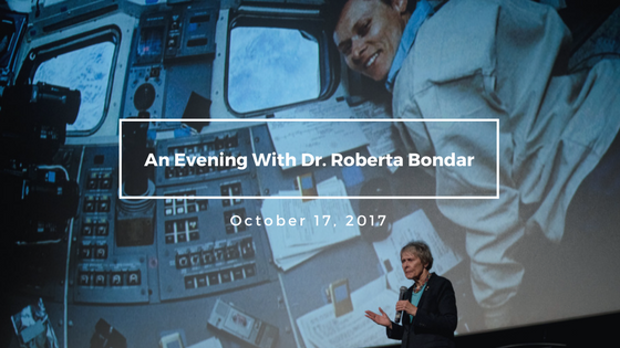 Planet in Focus kicked off with a special launch event honouring our 2017 Canadian Eco-Hero, Dr. Roberta Bondar, for her instrumental work in environmental education and advocacy. Dr. Bondar's keynote address was an inspiration to hundreds of audience members in attendance at Hot Docs Ted Rogers Cinema.