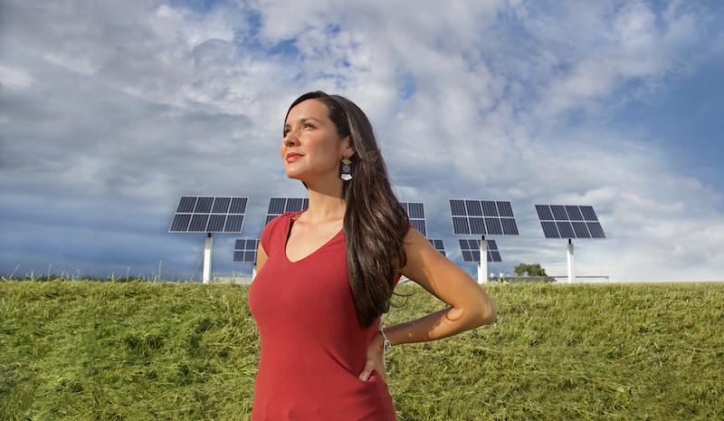 Melina-SolarPanelsinLittleBuffalo